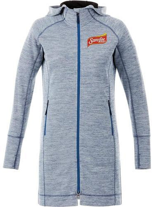 Elevate-Ladies Odell Knit Zip Hoody-Thread Logic