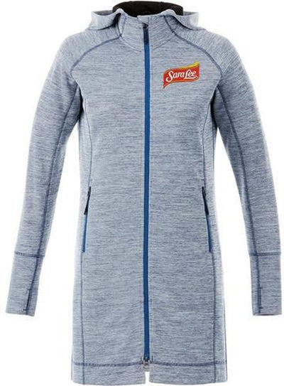 Elevate-Ladies Odell Knit Zip Hoody-Thread Logic no-logo