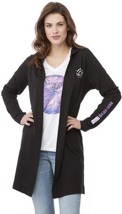 Elevate-Ladies ASHLAND Knit Hooded Cardigan-Thread Logic no-logo
