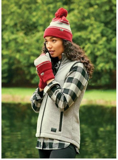 Roots73 Ladies Willowbeach Microfleece Vest
