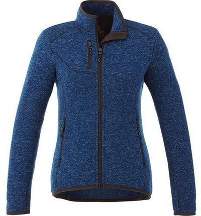 Elevate-Ladies TREMBLANT Knit Jacket-XS-Metro Blue Heather-Thread Logic