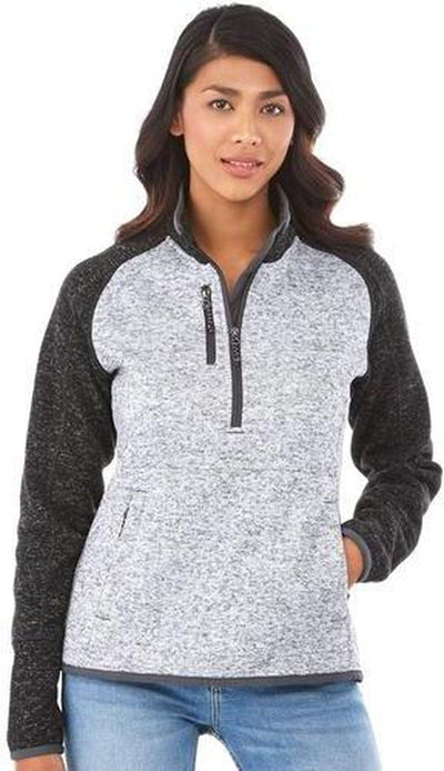 Elevate-Ladies VORLAGE Half Zip Knit Jacket-Thread Logic