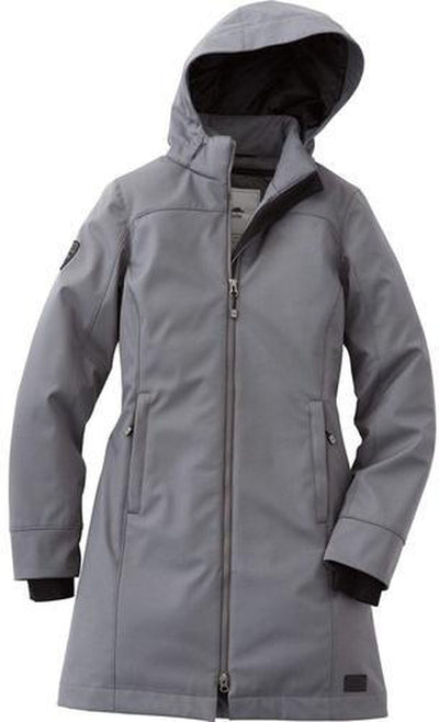 Ladies Roots73 Northlake Insulated Jacket-S-Charcoal-Thread Logic