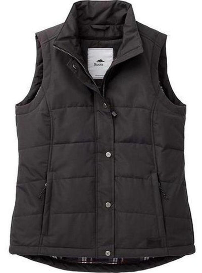 Ladies Roots73 Traillake Insulated Vest-S-Grey Smoke-Thread Logic