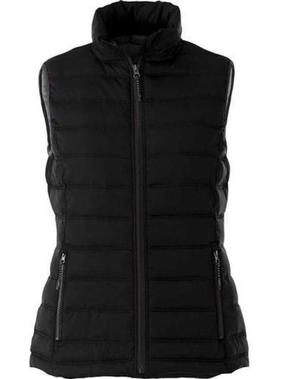 Elevate-Ladies MERCER Insulated Vest-XS-Black-Thread Logic