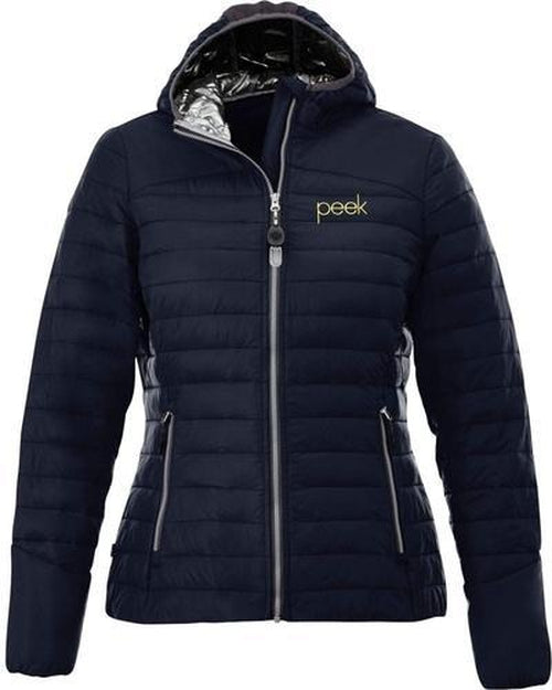 Elevate-Ladies SILVERTON Packable Insulated Jacket-Thread Logic no-logo