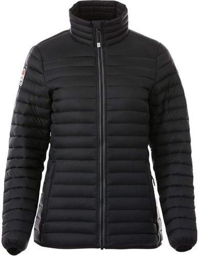 Ladies Roots73 Beechriver Down Jacket-XS-Black-Thread Logic