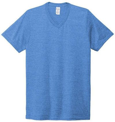Allmade Unisex Tri-Blend V-Neck Tee-Men's T Shirts-Thread Logic