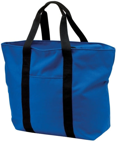 Port Authority-All Purpose Tote Bag-Royal-Thread Logic
