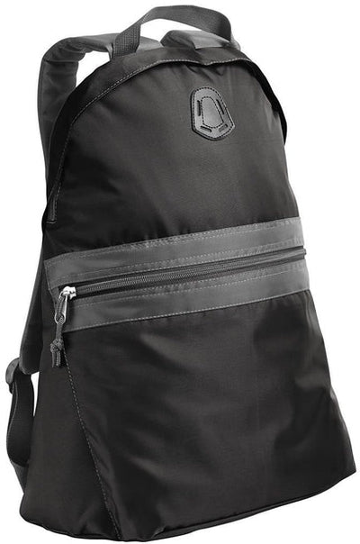Port Authority-Nailhead Backpack-Nearly Black/Smoke Grey-Thread Logic