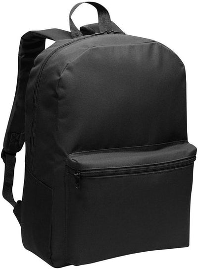 Port Authority-Value Backpack-Black-Thread Logic