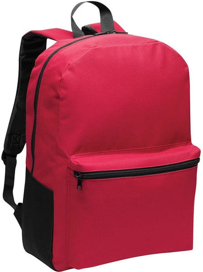 Port Authority-Value Backpack-Red-Thread Logic