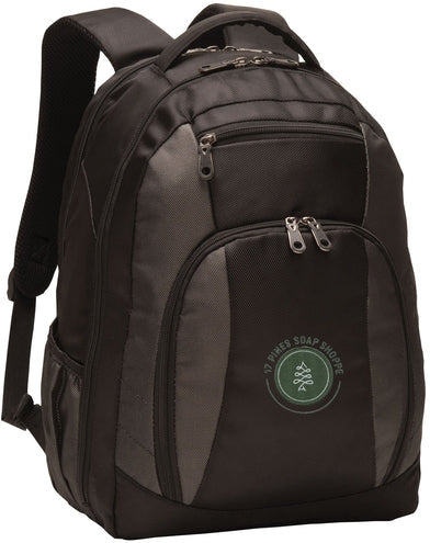 Port Authority-Commuter Backpack-Black-Thread Logic