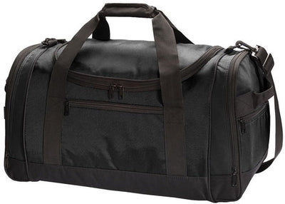 Port Authority-Voyager Sports Duffel-Black-Thread Logic
