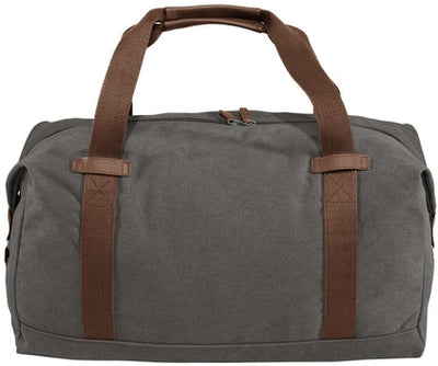 Port Authority-Cotton Canvas Duffle-Dark Smoke Grey-Thread Logic