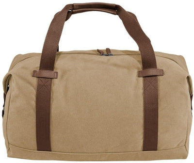 Port Authority-Cotton Canvas Duffle-Desert Khaki-Thread Logic