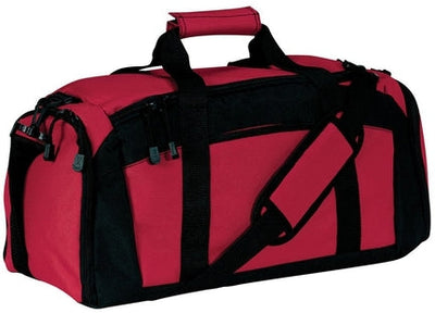 Port Authority-Gym Bag-Red-Thread Logic