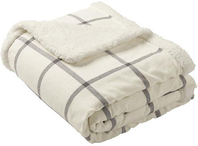 Port Authority Flannel Sherpa Blanket-More-Thread Logic