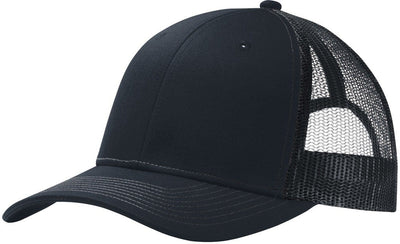 Port Authority-Snapback Trucker Cap-Rich Navy-Thread Logic