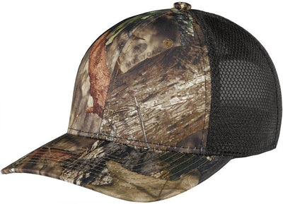 Port Authority Performance Camouflage Mesh Back Snapback Cap