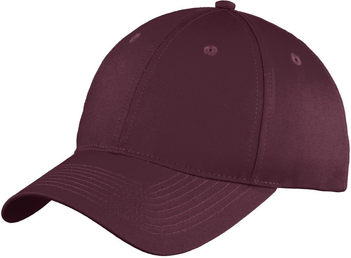 Port Authority Six-Panel Unstructured Twill Cap