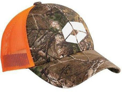 Port Authority Structured Camouflage Mesh Back Cap-Caps-Thread Logic