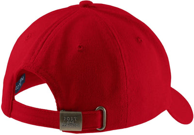 Port & Company-Brushed Twill Cap-Thread Logic