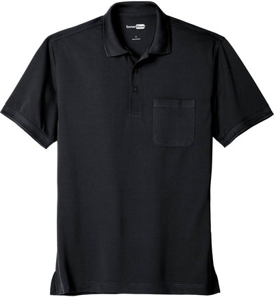 Cornerstone-Industrial Snag-Proof Pique Pocket Polo-XS-Navy Blue-Thread Logic