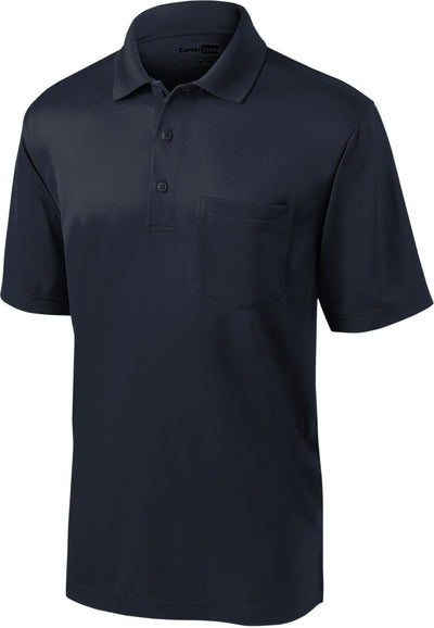 Cornerstone-Select Snag-Proof Pocket Polo-S-Deep Navy-Thread Logic