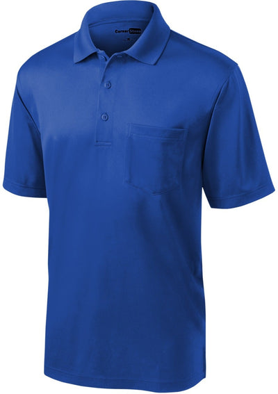 Cornerstone-Select Snag-Proof Pocket Polo-S-Royal-Thread Logic