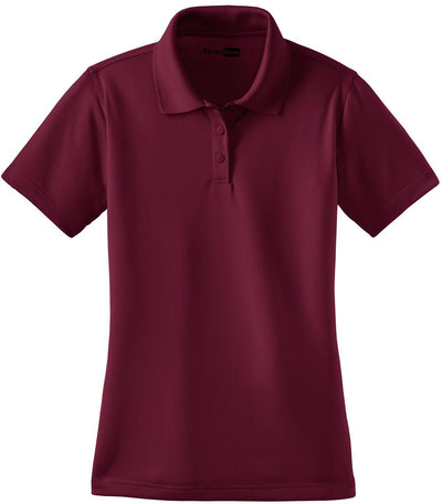 Maroon Ladies Select Snag-Proof Polo