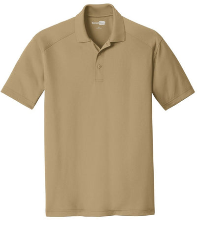 Cornerstone-Select Lightweight Snag-Proof Polo Shirt-S-Tan-Thread Logic