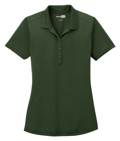 Cornerstone-Ladies Select Lightweight Snag-Proof Polo-XS-Dark Green-Thread Logic