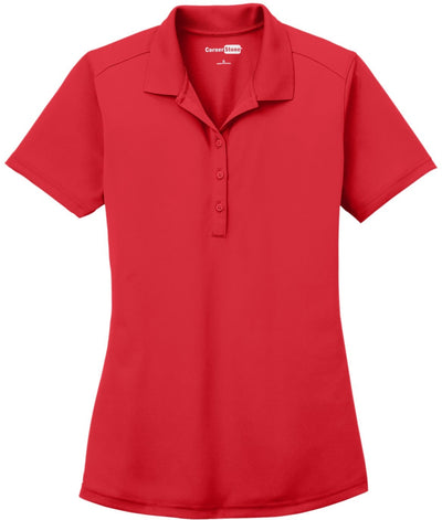Cornerstone-Ladies Select Lightweight Snag-Proof Polo-XS-Red-Thread Logic