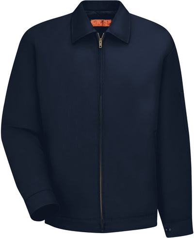 Cornerstone-Red Kap Slash Pocket Jacket-S-Navy-Thread Logic