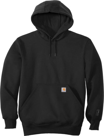Carhartt Rain Defender Paxton Heavyweight Hooded Sweatshirt-S-Black-Thread Logic