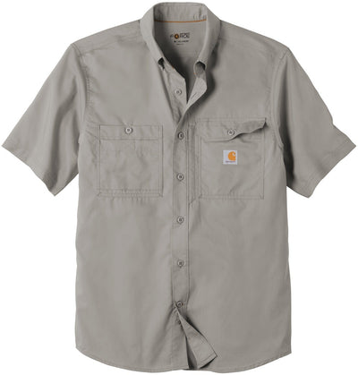 Carhartt Force Ridgefield Solid Short Sleeve Shirt-M-Asphalt-Thread Logic