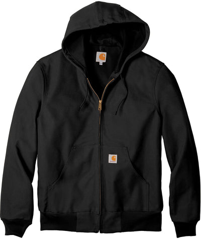 Carhartt Thermal-Lined Duck Active Jacket-S-Black-Thread Logic