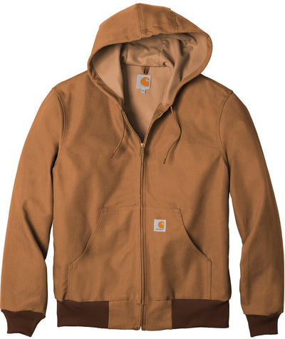 Carhartt Thermal-Lined Duck Active Jacket-S-Carhartt Brown-Thread Logic