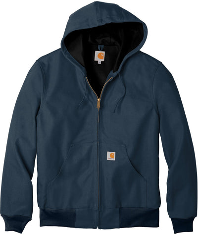Carhartt Thermal-Lined Duck Active Jacket-S-Dark Navy-Thread Logic