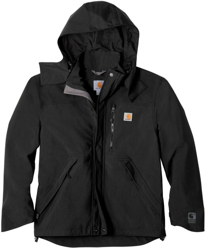 Carhartt Shoreline Jacket-S-Black-Thread Logic logo-right