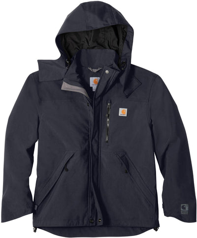 Carhartt Shoreline Jacket-S-Navy-Thread Logic logo-right