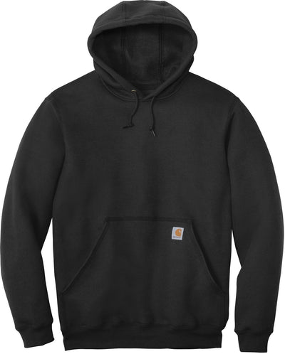 Carhartt Midweight Hooded Sweatshirt-S-Black-Thread Logic