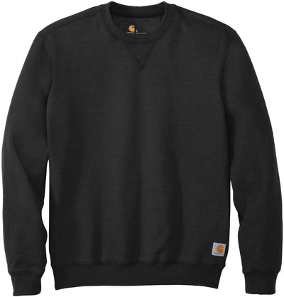 Carhartt Midweight Crewneck Sweatshirt-S-Black-Thread Logic