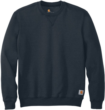 Carhartt Midweight Crewneck Sweatshirt-S-New Navy-Thread Logic