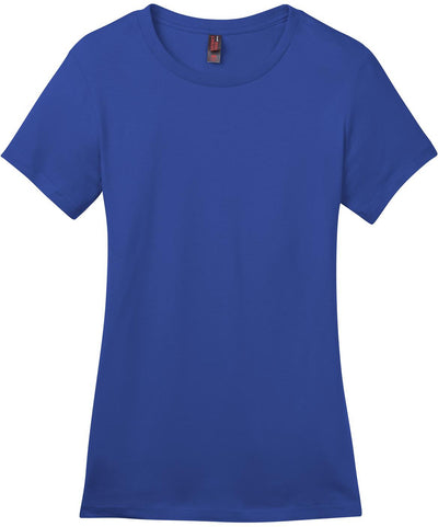 District-Ladies Perfect Weight Crew Tee-XS-Deep Royal-Thread Logic