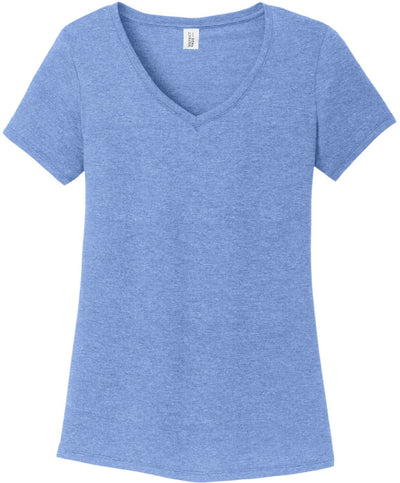 District Ladies Perfect Tri V-Neck Tee