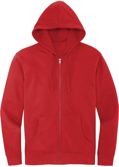 District V.I.T. Fleece Full-Zip Hoodie-Men's Layering-Thread Logic
