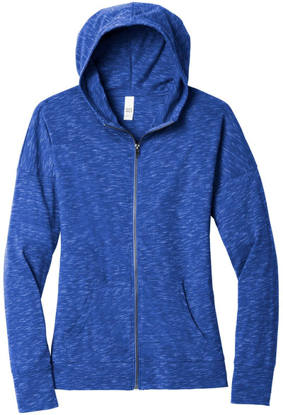 District Ladies Medal Full-Zip Hoodie