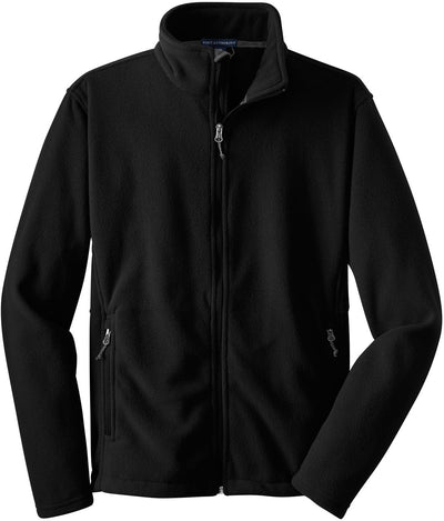 Port Authority-Value Fleece Jacket-S-Black-Thread Logic